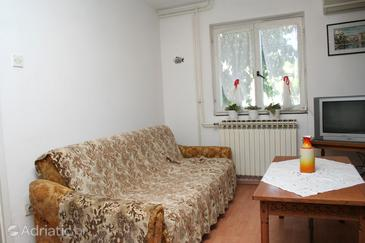Sreser, Living room in the apartment, air condition available, (pet friendly) and WiFi.