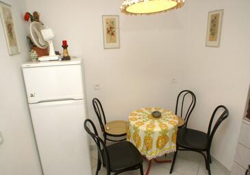 Trpanj, Jadalnia w zakwaterowaniu typu studio-apartment.