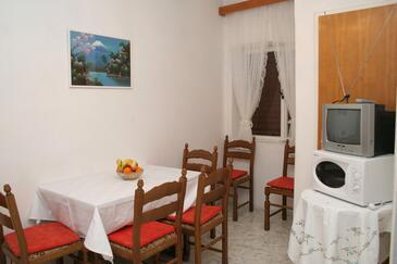 Orebić, Jadalnia w zakwaterowaniu typu apartment, WIFI.