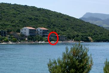 Luka Dubrava, Pelješac, Property 4568 - Apartments by the sea.