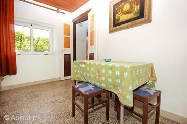 Orebić, Jídelna v ubytování typu house, domácí mazlíčci povoleni.