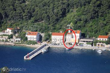 Trstenik, Pelješac, Objekt 4571 - Ubytování v blízkosti moře s oblázkovou pláží.