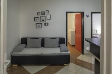 Žuljana, Pokój dzienny 1 w zakwaterowaniu typu apartment, WIFI.