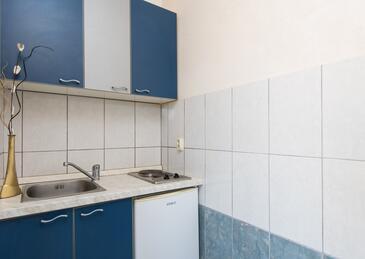 Žuljana, Kuchnia w zakwaterowaniu typu apartment.