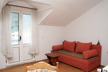 Žuljana, Pokój dzienny w zakwaterowaniu typu apartment, WIFI.