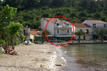 Žuljana, Pelješac, Obiekt 4577 - Apartamenty przy morzu z piaszczystą plażą.