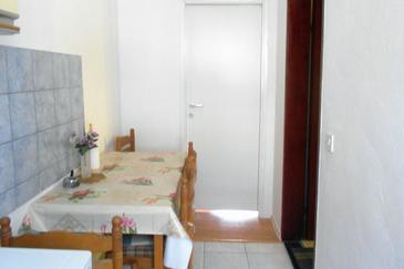 Orebić, Jedáleň v ubytovacej jednotke apartment, WIFI.