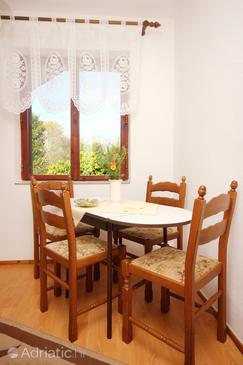 Orebić, Esszimmer in folgender Unterkunftsart apartment, WIFI.