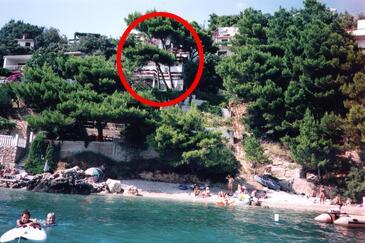 Stanići, Omiš, Objekt 4585 - Apartmani blizu mora sa šljunčanom plažom.