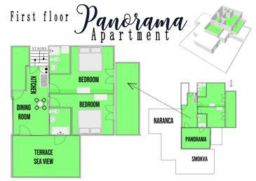 Hvar, План в размещении типа apartment, WiFi.