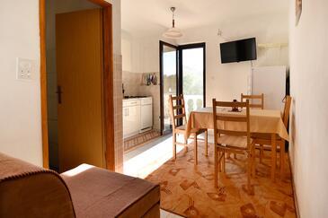 Zaraće (Gdinj), Jídelna v ubytování typu apartment, WiFi.