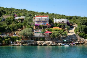Zaraće, Hvar, Property 4598 - Apartments by the sea.