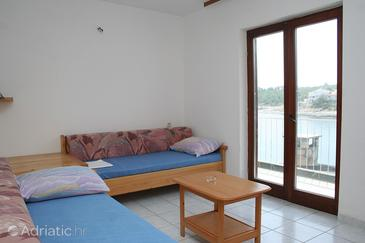 Basina, Living room in the apartment, dopusteni kucni ljubimci.