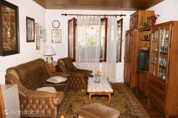 Vrboska, Living room in the house, WiFi.