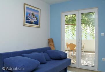 Hvar, Living room in the studio-apartment, WIFI.