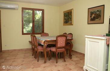 Sućuraj, Dining room in the house.