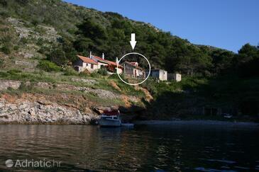 Uvala Divja, Hvar, Property 4617 - Vacation Rentals near sea with pebble beach.