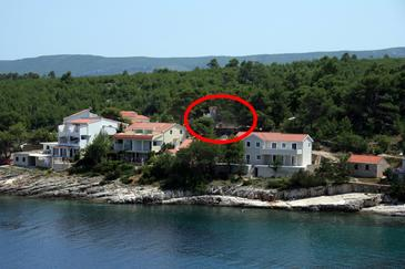 Basina, Hvar, Property 4622 - Apartments by the sea.