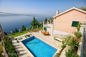 Mimice, Omiš, Property 4644 - Vacation Rentals with pebble beach.