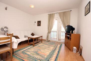 Mastrinka, Living room in the apartment, dostupna klima, dopusteni kucni ljubimci i WIFI.