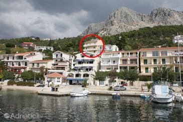 Podgora, Makarska, Property 4670 - Apartments and Rooms near sea with pebble beach.