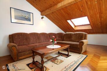 Dubrovnik, Salon dans l'hébergement en type apartment, climatisation disponible et WiFi.