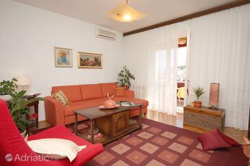 Dubrovnik, Living room in the apartment, dopusteni kucni ljubimci.