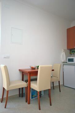 Dubrovnik, Dining room in the studio-apartment.
