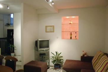 Dubrovnik, Living room in the apartment.