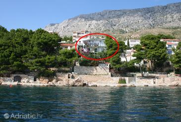 Stanići, Omiš, Property 474 - Apartments near sea with pebble beach.