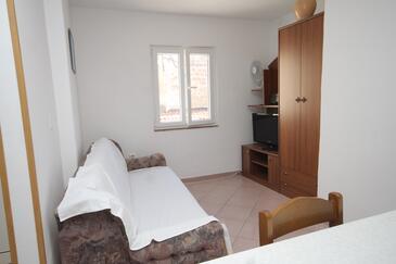 Slano, Obývací pokoj v ubytování typu apartment, WiFi.