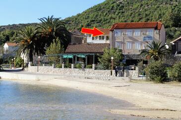 Slano, Dubrovnik, Objekt 4744 - Ubytování v blízkosti moře s oblázkovou pláží.
