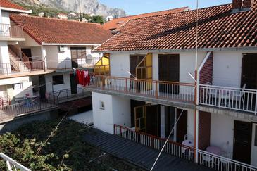 Podaca, Makarska, Obiekt 4747 - Apartamenty ze żwirową plażą.