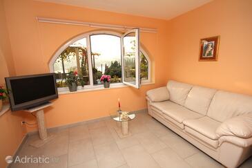 Štikovica, Living room 1 in the apartment, WIFI.