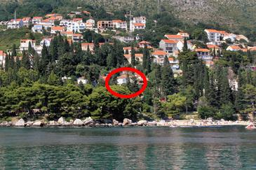 Mlini, Dubrovnik, Property 4757 - Apartments and Rooms near sea with pebble beach.