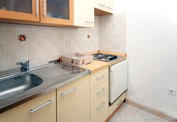 Soline, Kuchyně v ubytování typu studio-apartment, WiFi.