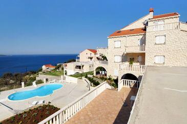 Soline, Dubrovnik, Obiekt 4762 - Apartamenty z kamienistą plażą.
