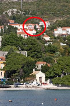 Mlini, Dubrovnik, Property 4773 - Apartments with pebble beach.