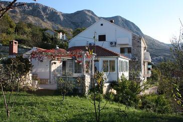 Mlini, Dubrovnik, Obiekt 4789 - Pokoje ze żwirową plażą.