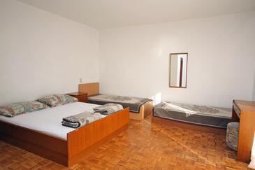 Mlini, Sypialnia w zakwaterowaniu typu room, dopusteni kucni ljubimci.