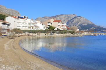 Duće, Omiš, Objekt 4795 - Ubytování v blízkosti moře s písčitou pláží.