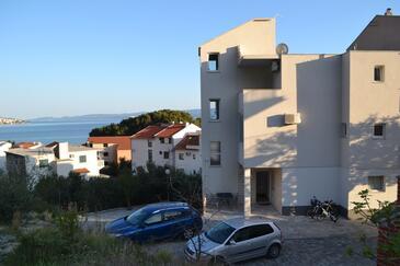 Duće, Omiš, Obiekt 4799 - Apartamenty z piaszczystą plażą.