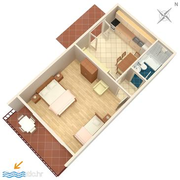Nemira, Plan in the apartment, WiFi.