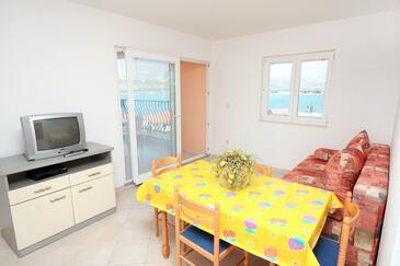Mastrinka, Obývacia izba v ubytovacej jednotke apartment, WiFi.