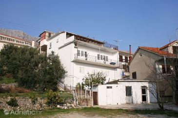 Sumpetar, Omiš, Property 4848 - Apartments with pebble beach.
