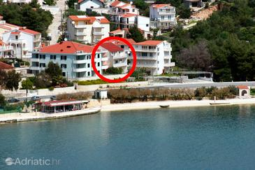 Marina, Trogir, Property 4850 - Apartments near sea with pebble beach.