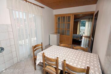Grebaštica, Jadalnia w zakwaterowaniu typu apartment, WiFi.