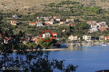 Grebaštica, Šibenik, Objekt 4866 - Ubytování s oblázkovou pláží.