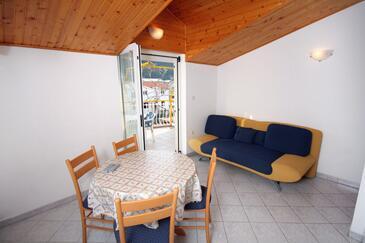 Grebaštica, Jadalnia w zakwaterowaniu typu apartment, dostupna klima, dopusteni kucni ljubimci i WIFI.