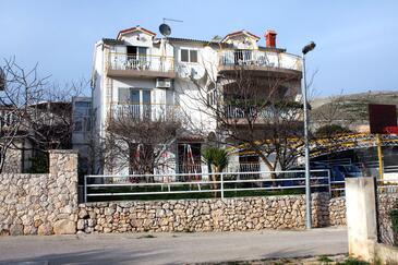 Grebaštica, Šibenik, Obiekt 4867 - Apartamenty ze żwirową plażą.